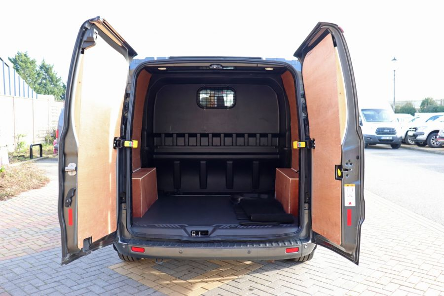 FORD TRANSIT CUSTOM 290 TDCI 130 L1H1 LIMITED DOUBLE CAB 6 SEAT CREW VAN SWB LOW ROOF - 10123 - 39