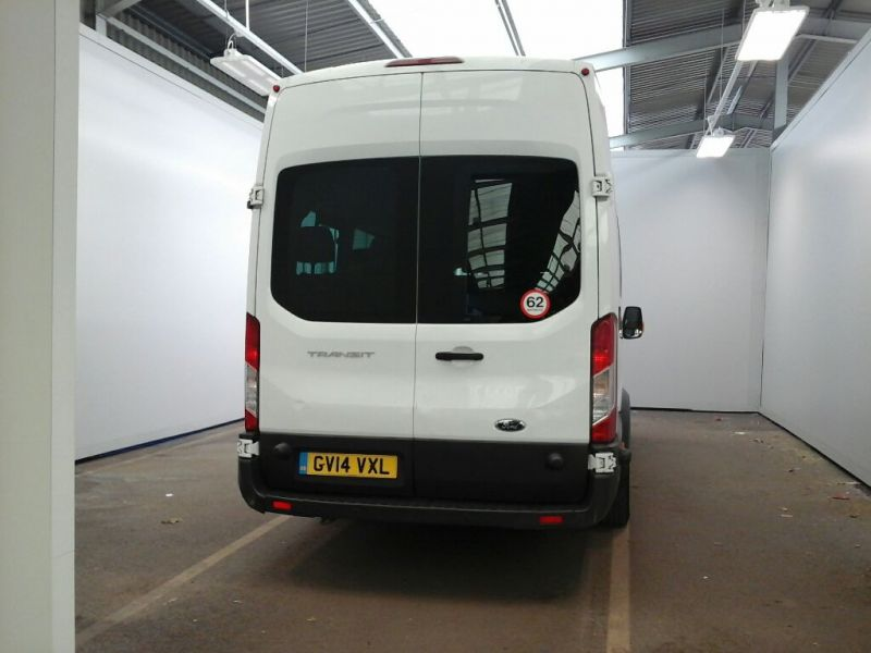 FORD TRANSIT 460 TDCI 125 L4H3 TREND 17 SEAT BUS HIGH ROOF DRW RWD - 10018 - 3