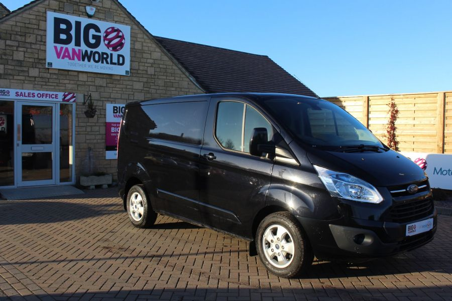 FORD TRANSIT CUSTOM 290 TDCI 125 L1 H1 LIMITED SWB LOW ROOF FWD - 6984 - 2