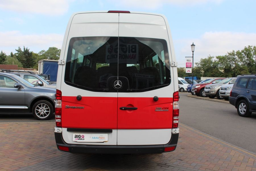 MERCEDES SPRINTER 316 CDI 163 TRAVELINER LWB 15 SEAT BUS HIGH ROOF - 8100 - 6