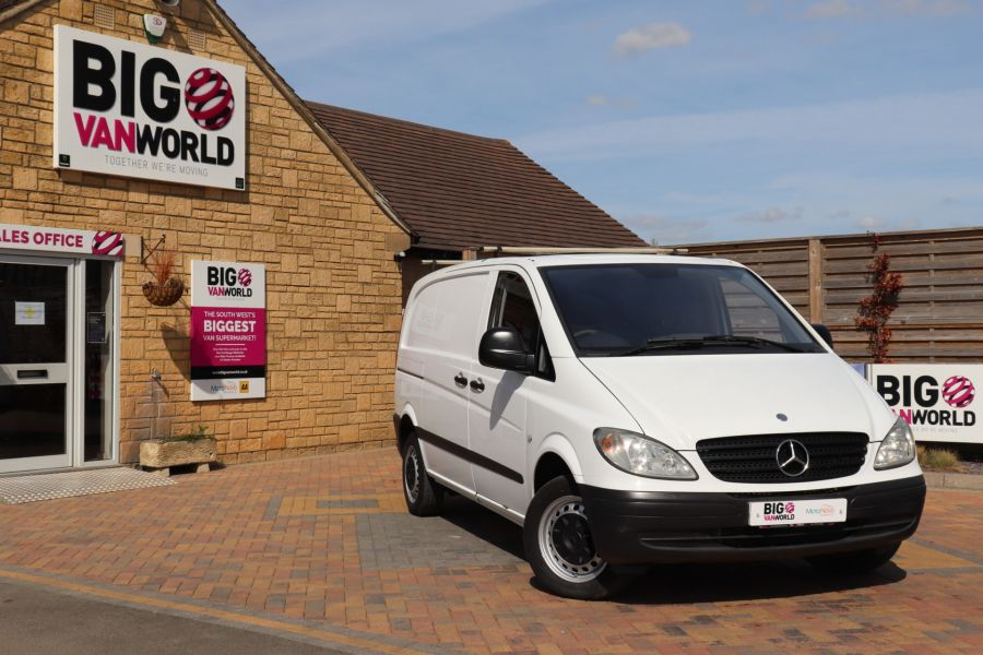 MERCEDES VITO 109 CDI 95 COMPACT SWB LOW ROOF - 10639 - 1
