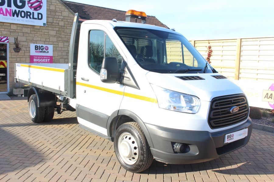 FORD TRANSIT 350 TDCI 125 SINGLE CAB 'ONE STOP' ALLOY TIPPER DRW - 7213 - 11