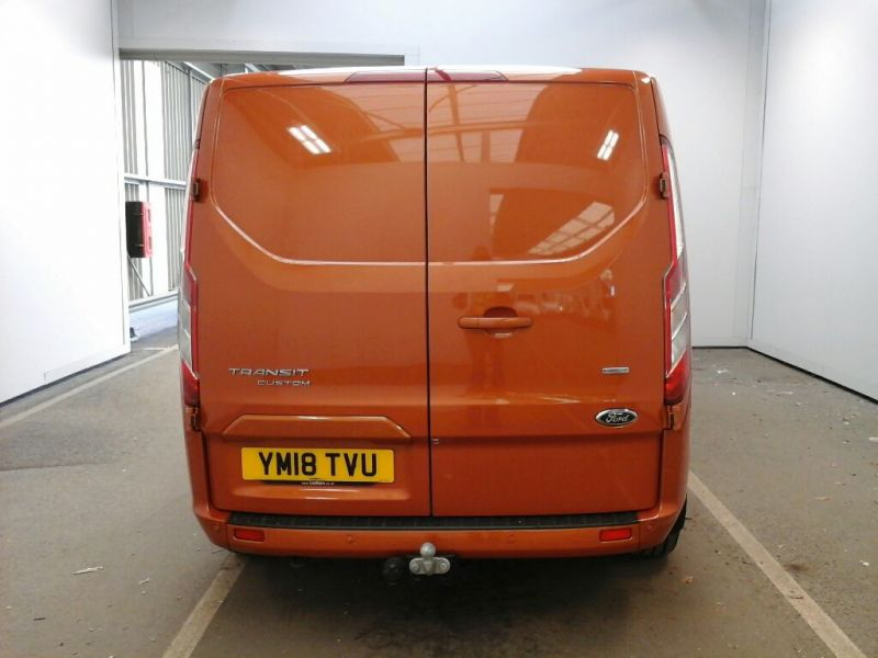 FORD TRANSIT CUSTOM 280 TDCI 130 L1 H1 LIMITED SWB LOW ROOF FWD - 9411 - 3