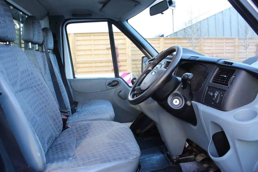 FORD TRANSIT 350 TDCI 100 MWB 'ONE STOP' ALLOY TIPPER DRW RWD - 6726 - 19