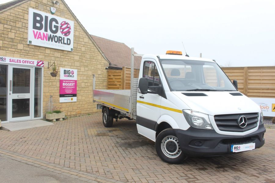 MERCEDES SPRINTER 313 CDI LWB SINGLE CAB ALLOY DROPSIDE - 6885 - 1