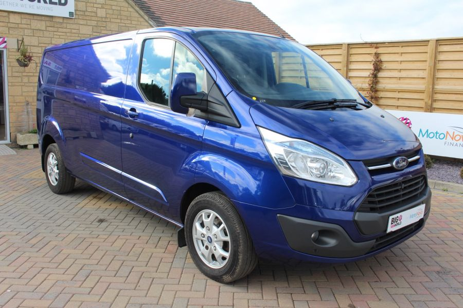 FORD TRANSIT CUSTOM 310 TDCI 155 L2 H1 LIMITED LWB LOW ROOF - 6620 - 3