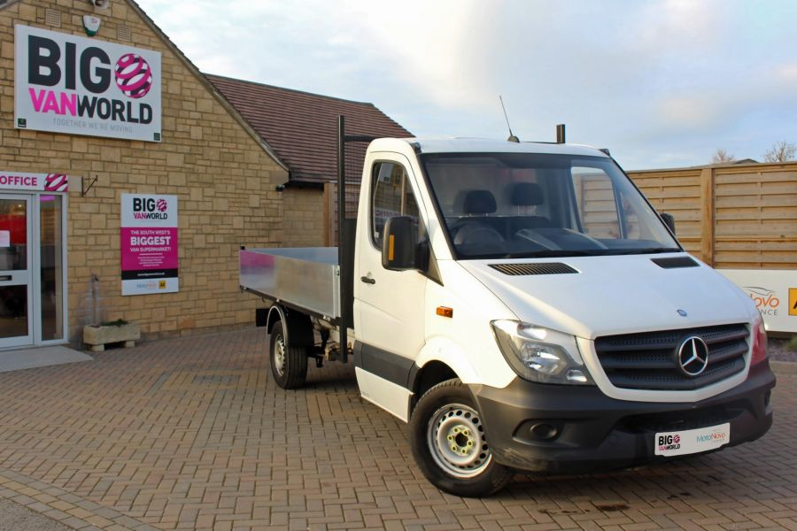 MERCEDES SPRINTER 313 CDI 129 MWB SINGLE CAB NEW BUILD ALLOY TIPPER - 9533 - 2