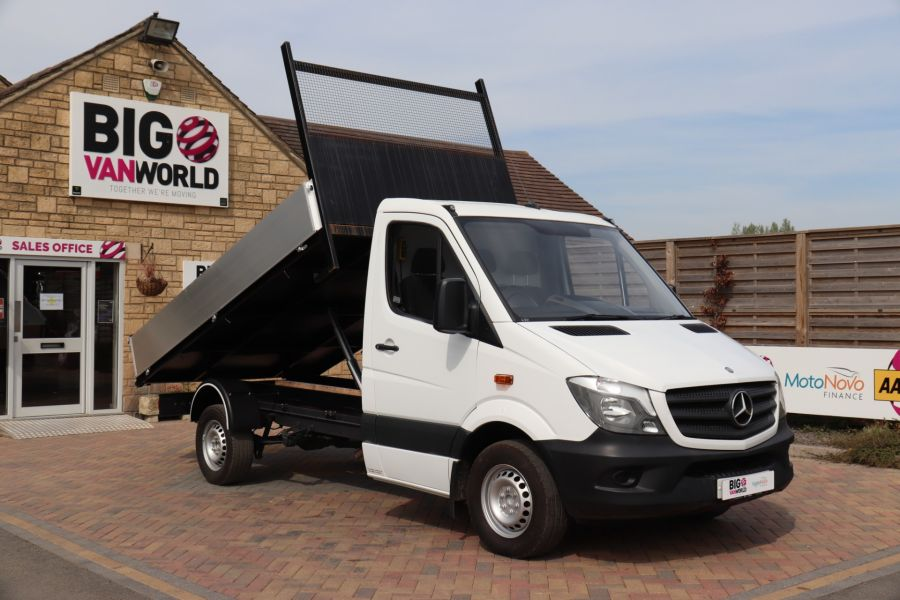 MERCEDES SPRINTER 313 CDI 129 MWB SINGLE CAB NEW BUILD ALLOY TIPPER - 10678 - 3