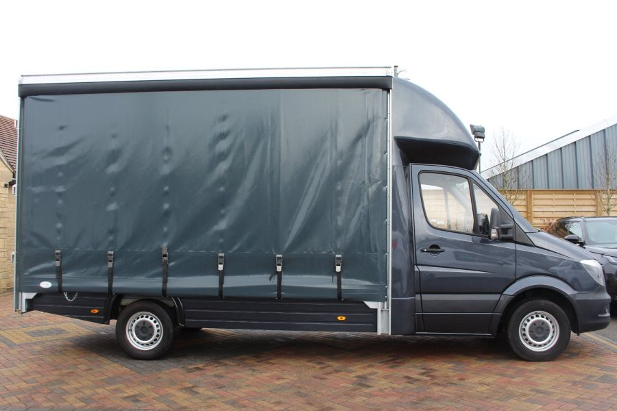 MERCEDES SPRINTER 313 CDI LWB 14FT CURTAIN SIDE BOX - 5627 - 3