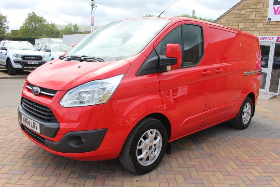 FORD TRANSIT CUSTOM 290 TDCI 125 L1 H1 LIMITED SWB LOW ROOF FWD - 9116 - 8
