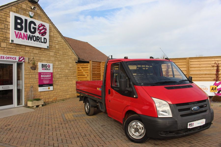 FORD TRANSIT 300 TDCI 110 SWB ALLOY DROPSIDE - 7031 - 1