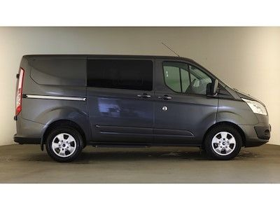 FORD TRANSIT CUSTOM 290 TDCI 170 L1H1 LIMITED DOUBLE CAB 5 SEAT CREW VAN SWB LOW ROOF - 12600 - 3