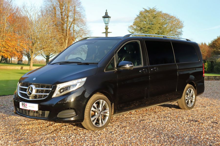 MERCEDES V-CLASS V250 CDI 190 BLUETEC SPORT EXTRA LONG 8 SEATS 7G-TRONIC PLUS - 11788 - 11