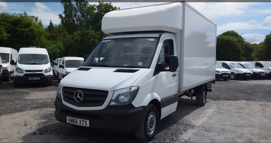 MERCEDES SPRINTER 314 CDI 140 LWB 'ONE STOP' LUTON WITH TAIL LIFT - 10777 - 8