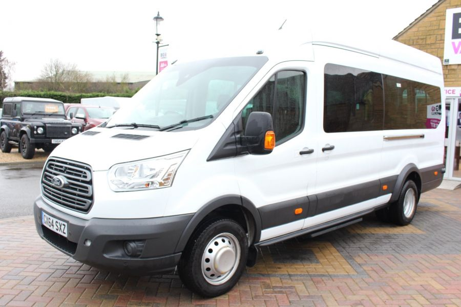 FORD TRANSIT 460 TDCI 125 L4 H3 TREND 17 SEAT BUS HIGH ROOF DRW RWD - 8462 - 7