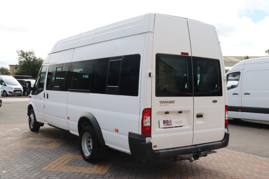 FORD TRANSIT 430 TDCI 135 EL LWB 17 SEAT BUS WITH WHEELCHAIR ACCESS HIGH ROOF DRW RWD - 9665 - 7