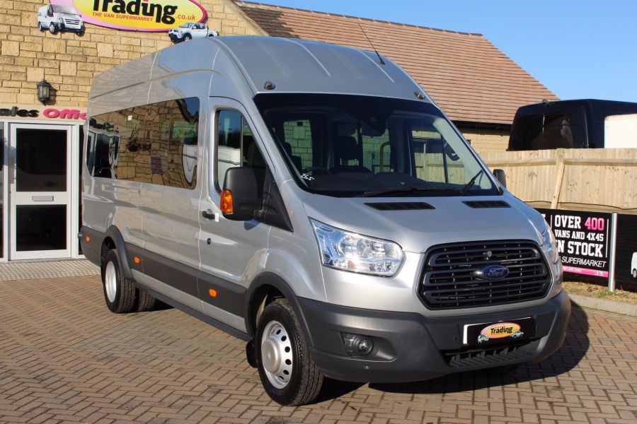 FORD TRANSIT 460 TDCI 155 L4 H3 TREND 18 SEAT BUS - 5330 - 1
