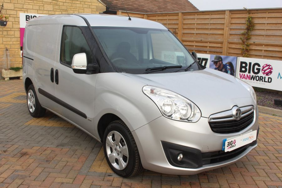 VAUXHALL COMBO 2000 CDTI 90 L1 H1 SPORTIVE SWB LOW ROOF - 8441 - 1