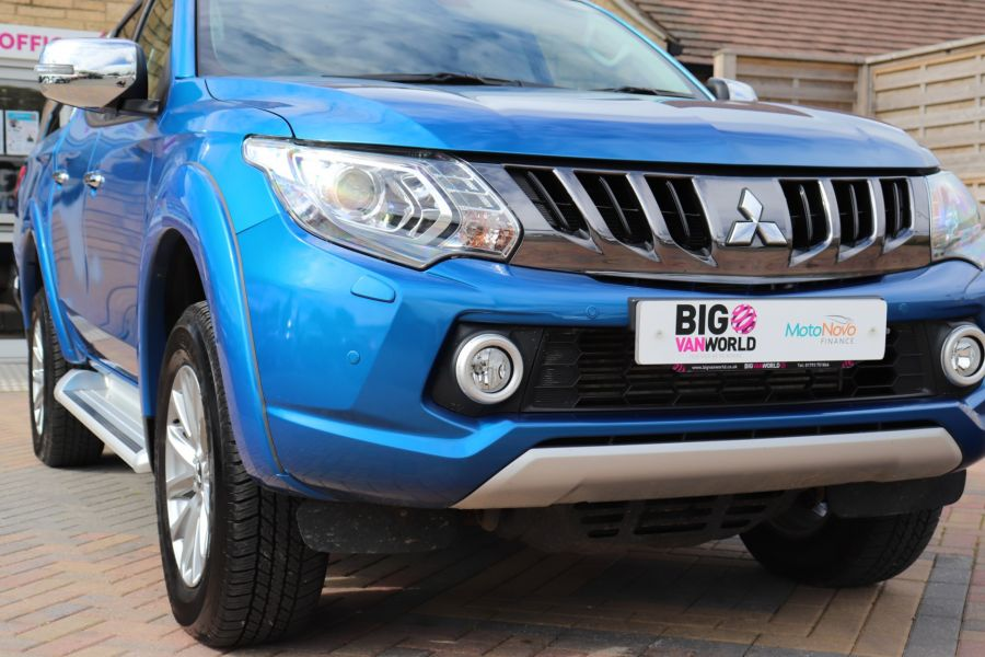 MITSUBISHI L200 DI-D 178 4WD WARRIOR DOUBLE CAB WITH ROLL'N'LOCK TOP - 11123 - 46