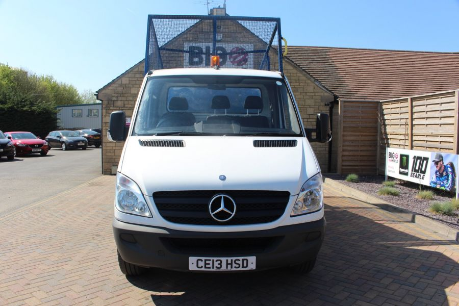 MERCEDES SPRINTER 313 CDI 129 MWB SINGLE CAB CAGED TIPPER - 9129 - 8