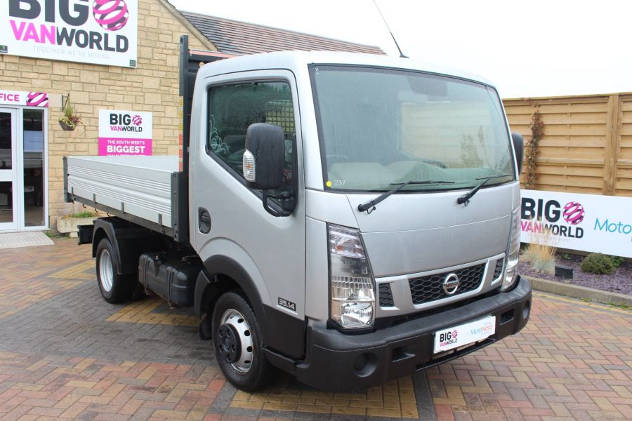 NISSAN NT400 CABSTAR DCI 35.14 SWB ALLOY TIPPER - 6520 - 11