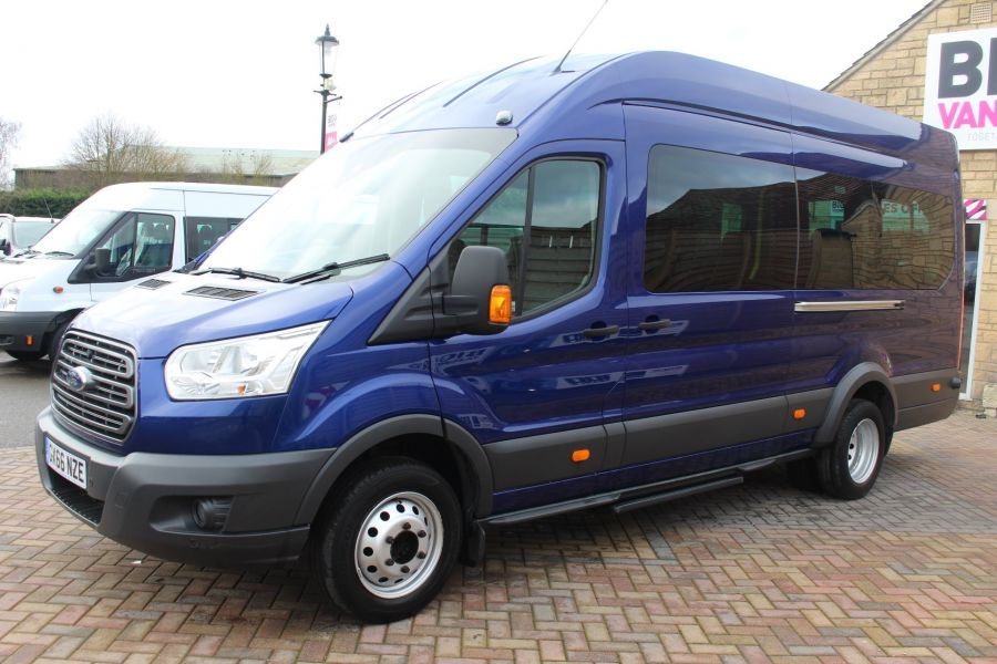 FORD TRANSIT 460 TDCI 125 TREND L4 HIGH ROOF 17 SEAT BUS - 8546 - 8