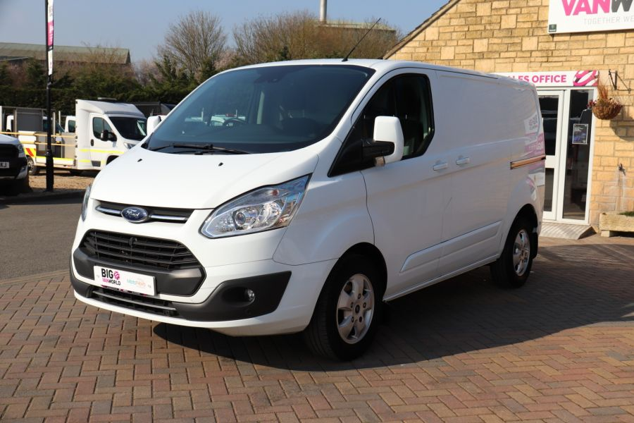 FORD TRANSIT CUSTOM 340 TDCI 130 L1H1 LIMITED SWB LOW ROOF FWD - 10566 - 10