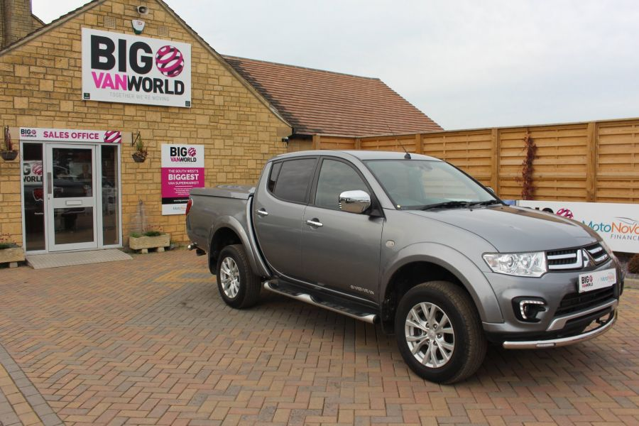 MITSUBISHI L200 DI-D 4X4 LWB BARBARIAN LB 175 BHP DOUBLE CAB WITH MOUNTAIN TOP  - 6724 - 2