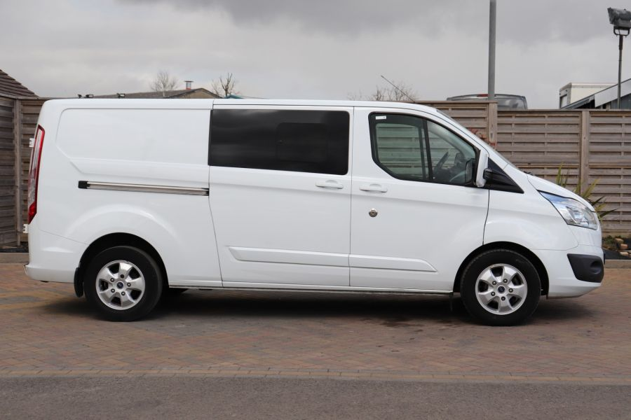 FORD TRANSIT CUSTOM 310 TDCI 130 L2H1 LIMITED DOUBLE CAB 6 SEAT CREW VAN LWB LOW ROOF FWD  (13819) - 12104 - 7