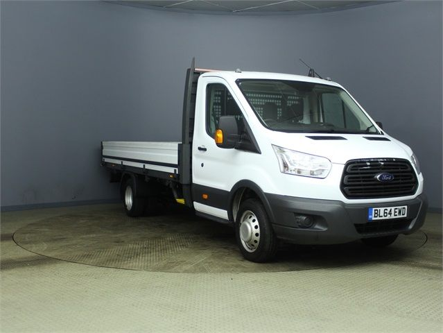 FORD TRANSIT 350 TDCI 125 DRW L4 SINGLE CAB 'ONE STOP' ALLOY DROPSIDE - 7187 - 1