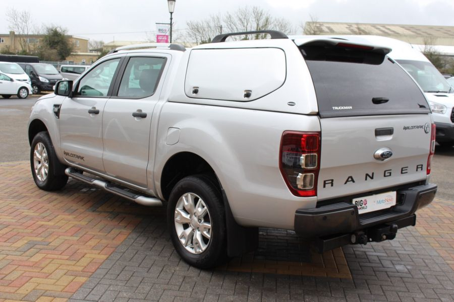 FORD RANGER WILDTRAK 4X4 TDCI 197 DOUBLE CAB WITH TRUCKMAN TOP - 7516 - 7