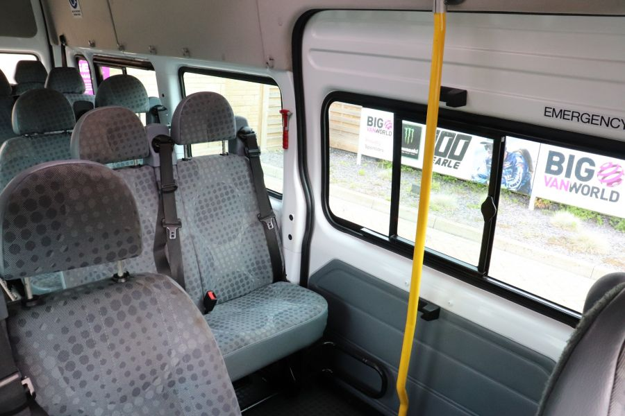 FORD TRANSIT 430 TDCI 135 EL LWB 17 SEAT BUS WITH WHEELCHAIR ACCESS HIGH ROOF DRW RWD - 9665 - 36