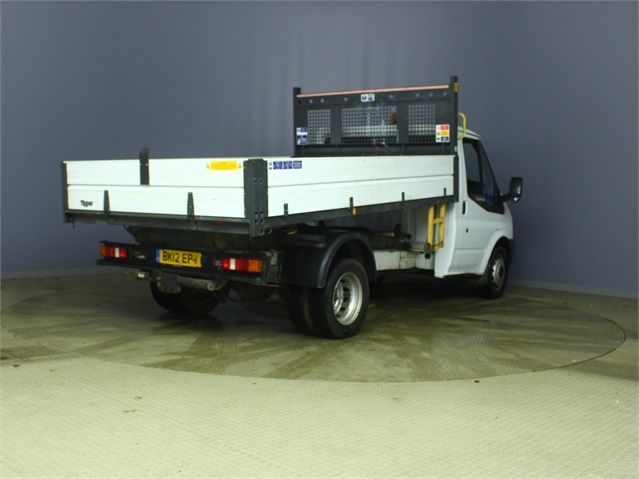 FORD TRANSIT 350 TDCI 100 MWB 'ONE STOP' ALLOY TIPPER DRW RWD - 6985 - 2