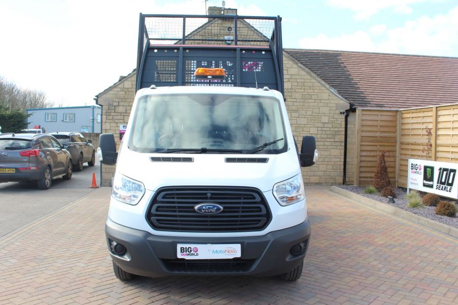 FORD TRANSIT 350 TDCI 125 SINGLE CAB 'ONE STOP' CAGED TIPPER DRW RWD - 7297 - 8