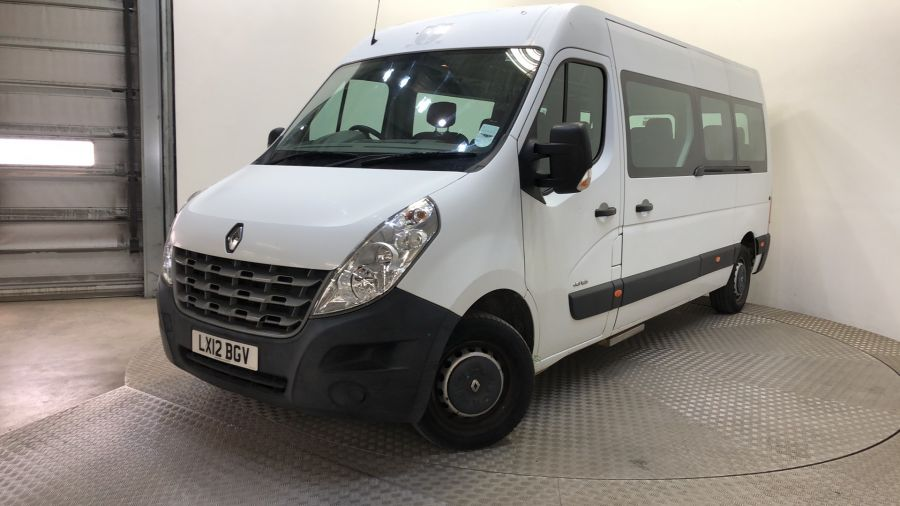 RENAULT MASTER LM39 DCI 125 LWB 17 SEAT BUS MEDIUM ROOF WITH OVERHEAD STORAGE - 11310 - 1