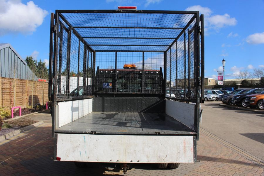FORD TRANSIT 350 TDCI 125 SINGLE CAB 'ONE STOP' CAGED TIPPER DRW RWD - 7297 - 24