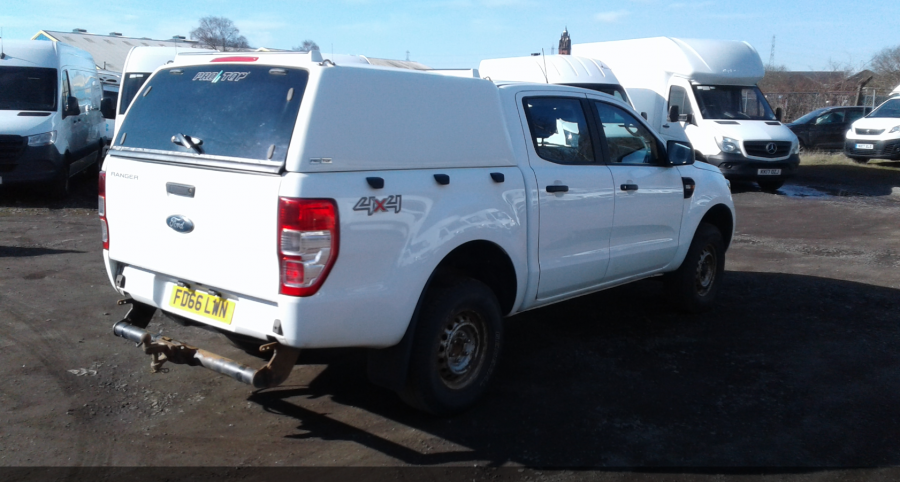 FORD RANGER TDCI 160 XL 4X4 DOUBLE CAB WITH TRUCKMAN TOP  (14253) - 12512 - 4