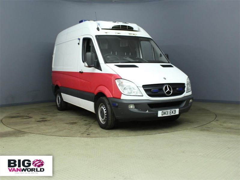 MERCEDES SPRINTER 313 CDI MWB HIGH ROOF FRIDGE WITH OVERNIGHT - 7388 - 1