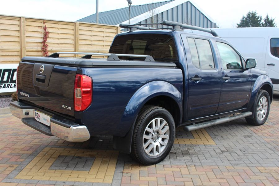 NISSAN NAVARA OUTLAW DCI 231 4X4 DOUBLE CAB WITH MOUNTAIN TOP - 7465 - 5