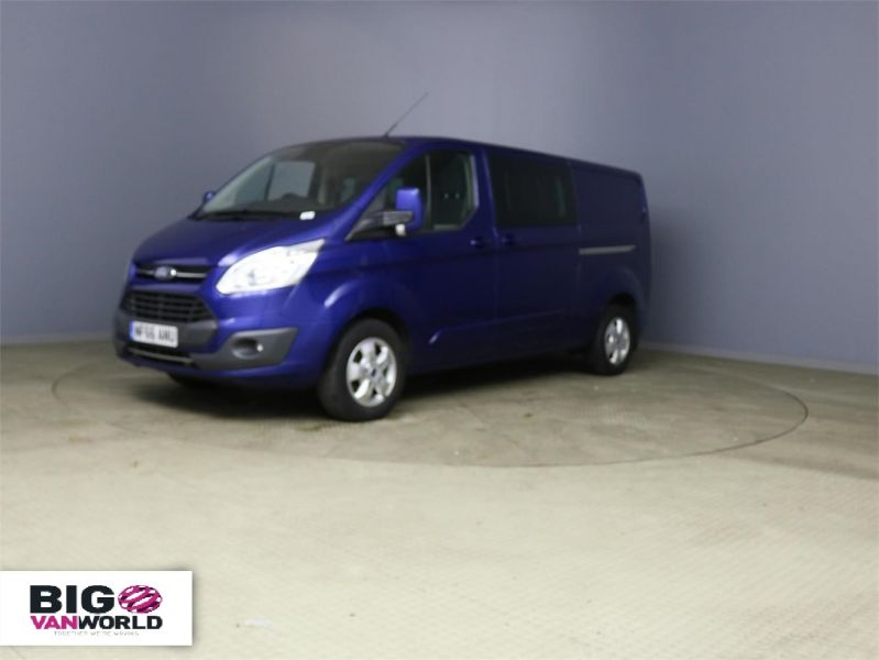 FORD TRANSIT CUSTOM 310 TDCI 170 L2H1 LIMITED DOUBLE CAB 6 SEAT CREW VAN LWB LOW ROOF - 10114 - 5