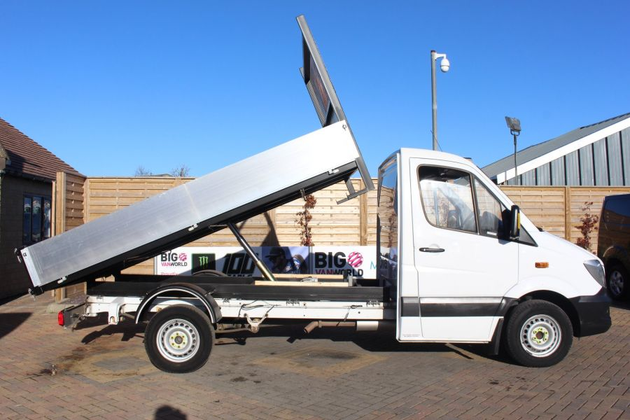 MERCEDES SPRINTER 313 CDI MWB SINGLE CAB NEW BUILD ALLOY TIPPER - 8728 - 3