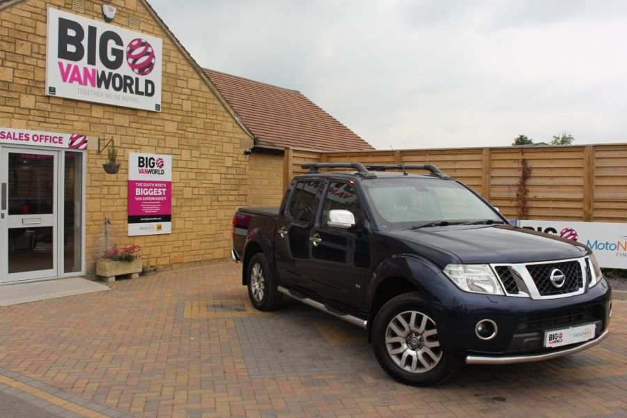 NISSAN NAVARA OUTLAW DCI 231 4X4 DOUBLE CAB WITH TONNEAU COVER - 7877 - 2