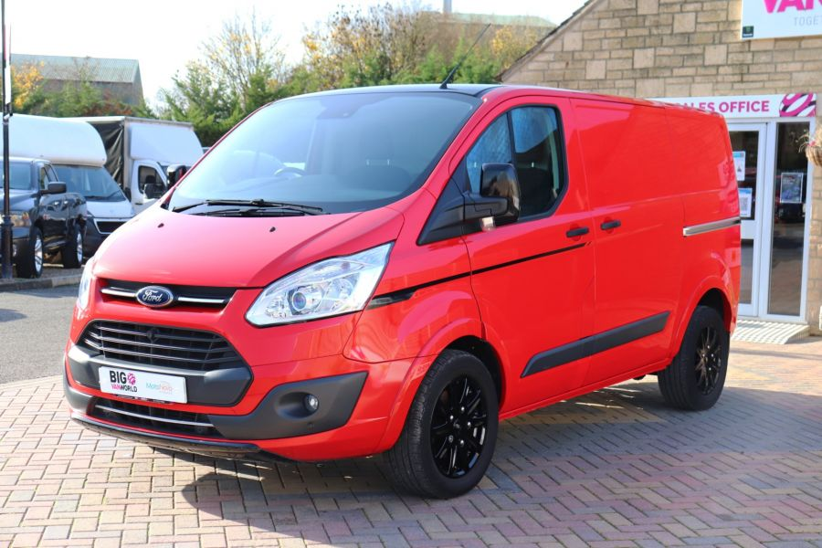 FORD TRANSIT CUSTOM 290 TDCI 170 L1H1 TREND COLOUR EDITION SWB LOW ROOF - 11530 - 10
