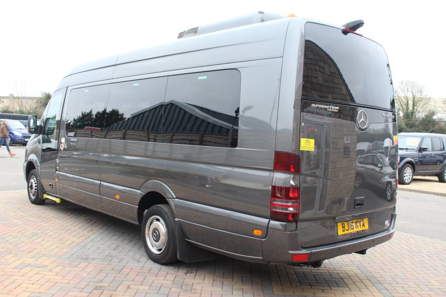 MERCEDES SPRINTER 516 TRAVEL 45 XLWB 16 SEAT SINGLE DECK COACH - 8762 - 8