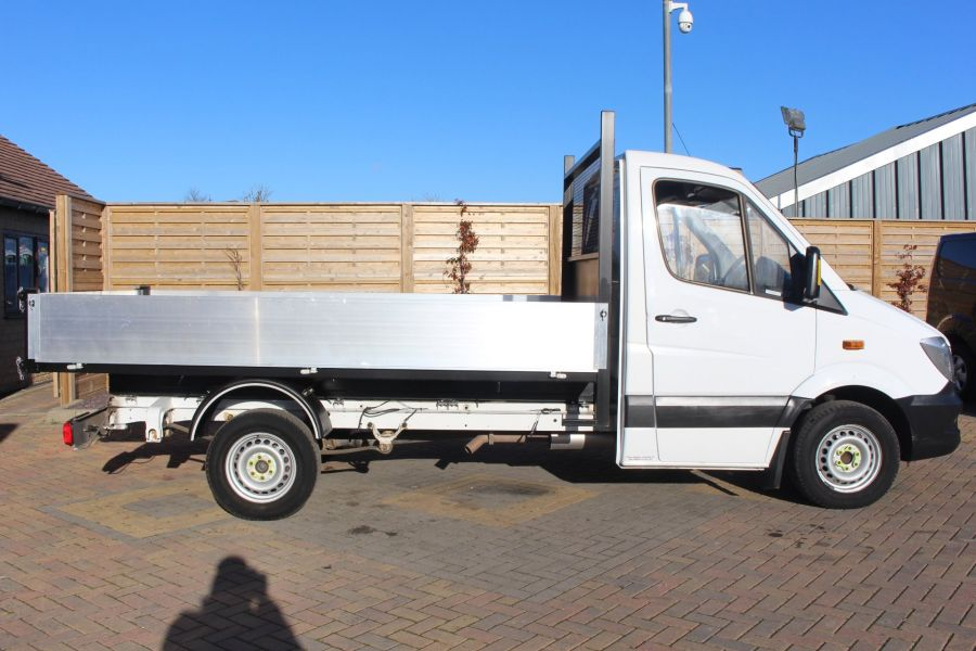 MERCEDES SPRINTER 313 CDI MWB SINGLE CAB NEW BUILD ALLOY TIPPER - 8729 - 8