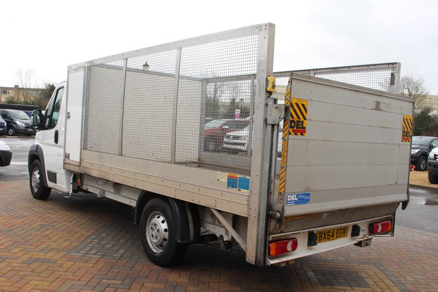 FIAT DUCATO 35 MAXI MULTIJET 130 13.5 FT ALLOY CAGED DROPSIDE WITH TAIL LIFT - 8868 - 7