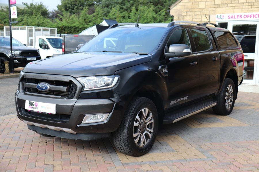 FORD RANGER WILDTRAK TDCI 200 4X4 DOUBLE CAB WITH TRUCKMAN TOP - 9555 - 9