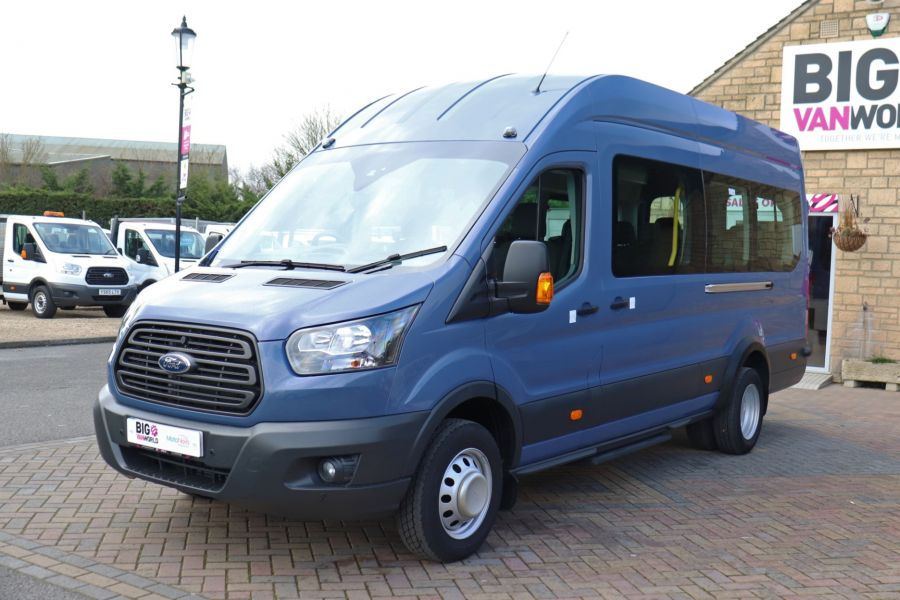 FORD TRANSIT 460 TDCI 155 L4H3 17 SEAT BUS HIGH ROOF DRW RWD - 10252 - 10