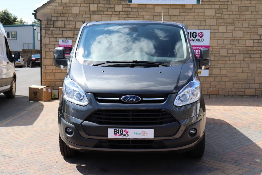 FORD TRANSIT CUSTOM 290 TDCI 125 L1H1 LIMITED DOUBLE CAB 6 SEAT CREW VAN SWB LOW ROOF FWD - 9474 - 10