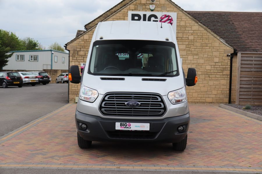 FORD TRANSIT 460 TDCI 155 L4H3 TREND 17 SEAT BUS HIGH ROOF DRW RWD - 11641 - 13